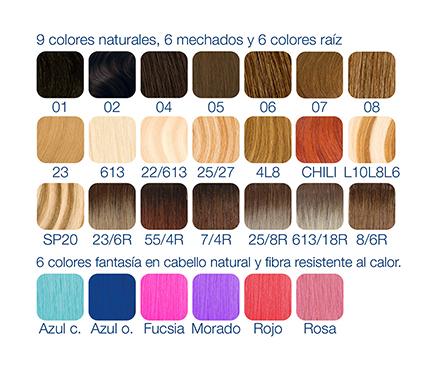 colores extensiones hairplus